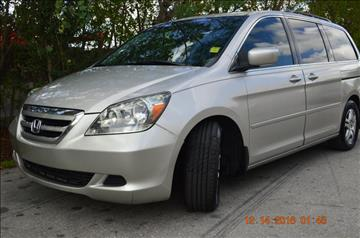 2005 Honda Odyssey for sale at Zak Motor Group in Deerfield Beach FL