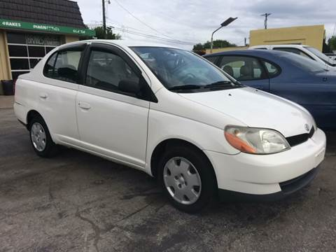 2002 Toyota ECHO for sale at ADVANCED AUTOMOTIVE INC in Crystal City MO