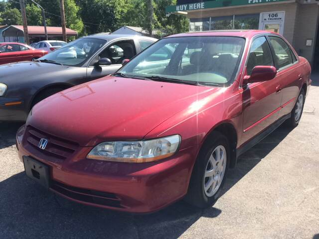 2002 Honda Accord for sale at ADVANCED AUTOMOTIVE INC in Crystal City MO