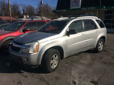 2005 Chevrolet Equinox for sale at ADVANCED AUTOMOTIVE INC in Crystal City MO