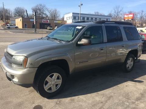 2003 Chevrolet TrailBlazer for sale at ADVANCED AUTOMOTIVE INC in Crystal City MO