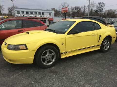 2001 Ford Mustang for sale at ADVANCED AUTOMOTIVE INC in Crystal City MO
