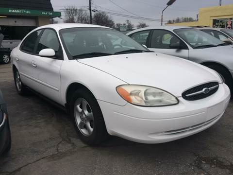 2001 Ford Taurus for sale at ADVANCED AUTOMOTIVE INC in Crystal City MO