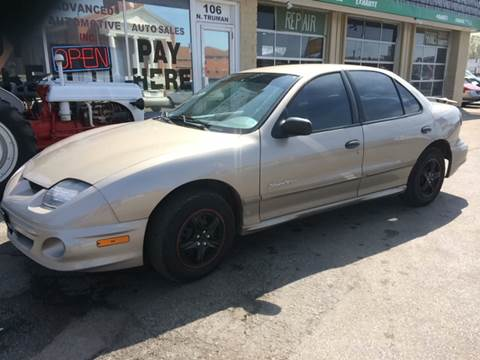 2002 Pontiac Sunfire for sale at ADVANCED AUTOMOTIVE INC in Crystal City MO