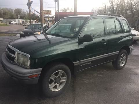 2004 Chevrolet Tracker for sale at ADVANCED AUTOMOTIVE INC in Crystal City MO