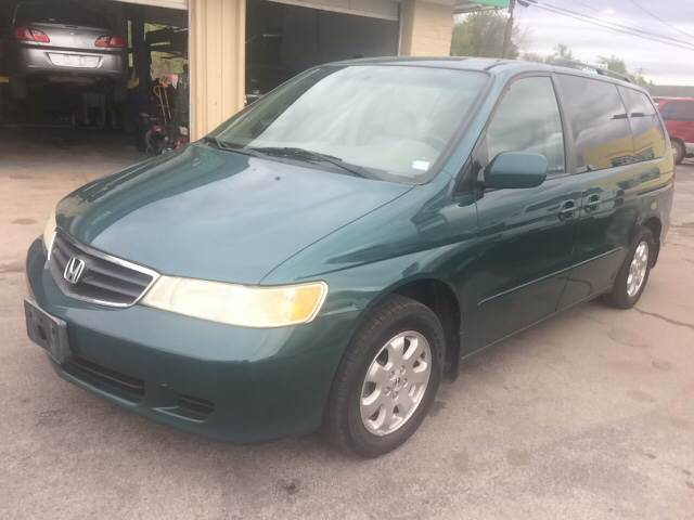 2003 Honda Odyssey for sale at ADVANCED AUTOMOTIVE INC in Crystal City MO