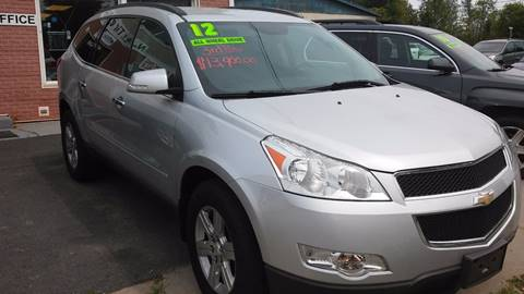 2012 Chevrolet Traverse for sale at NNY Tire and Auto in Massena NY