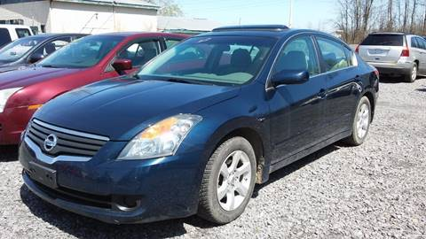 2009 Nissan Altima for sale at NNY Tire and Auto in Massena NY