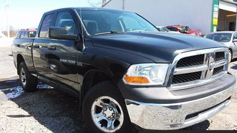 2011 Dodge Ram Pickup 1500 for sale at NNY Tire and Auto in Massena NY
