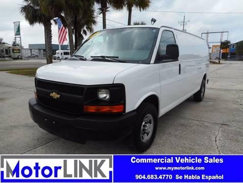 2015 Chevrolet Express Cargo For Sale In Jacksonville FL