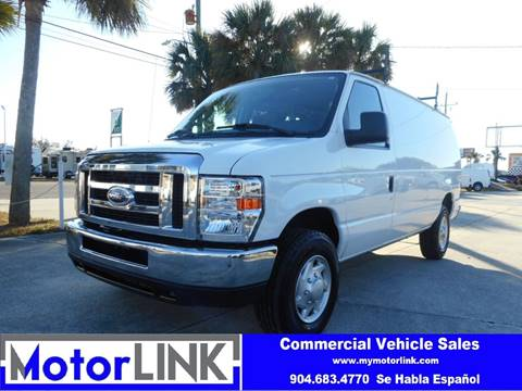 2013 Ford E Series Cargo For Sale In Jacksonville FL