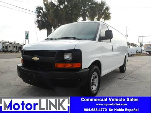 2013 Chevrolet Express Cargo For Sale In Jacksonville FL