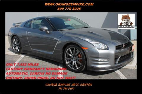 2015 Nissan GT-R for sale in Orange, CA