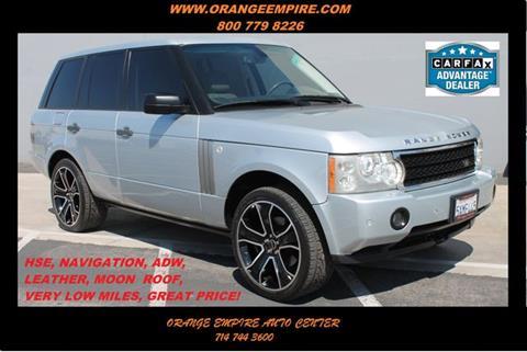 2007 Land Rover Range Rover for sale in Orange, CA