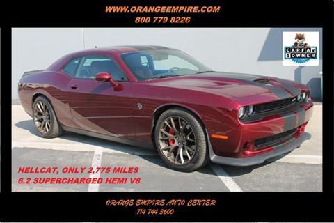 2017 Dodge Challenger for sale in Orange, CA