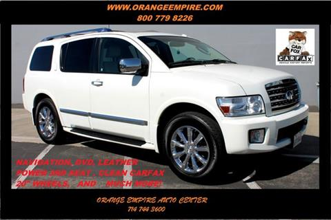 2010 Infiniti QX56 for sale in Orange, CA
