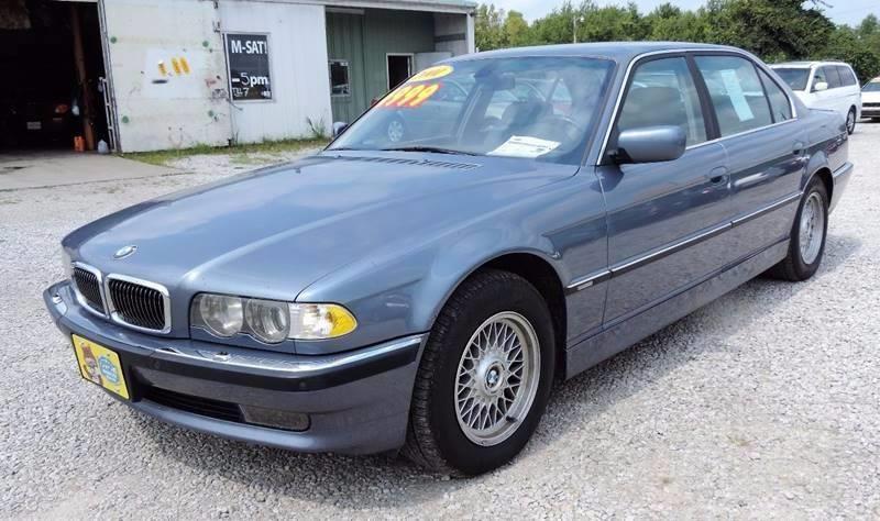 2001 BMW 7 Series 740iL RWD