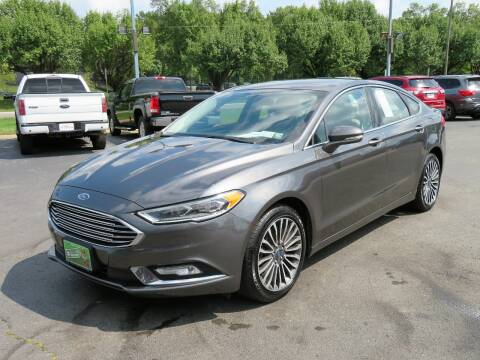 2017 Ford Fusion for sale at Low Cost Cars North in Whitehall OH