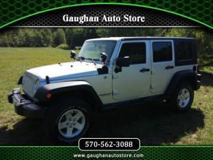 2009 Jeep Wrangler Unlimited for sale in Taylor, PA