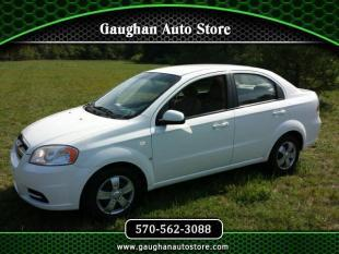 2008 Chevrolet Aveo for sale at Gaughan Auto Store in Taylor PA