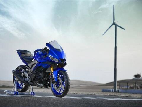 2019 Yamaha YZF-R3 for sale at Street Track n Trail in Conneaut Lake PA