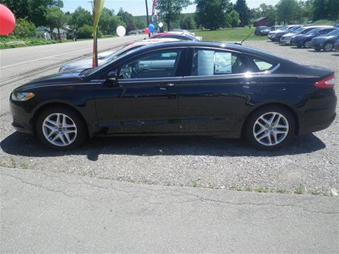 2013 Ford Fusion for sale in Conneaut Lake, PA