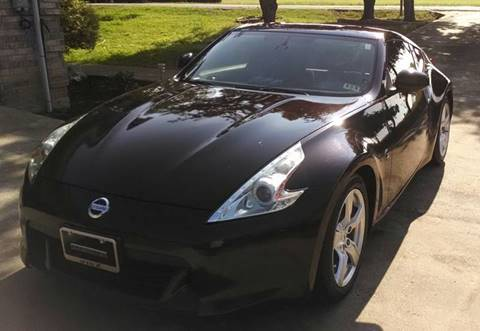 2010 nissan 370z for sale in waxahachie tx. Black Bedroom Furniture Sets. Home Design Ideas