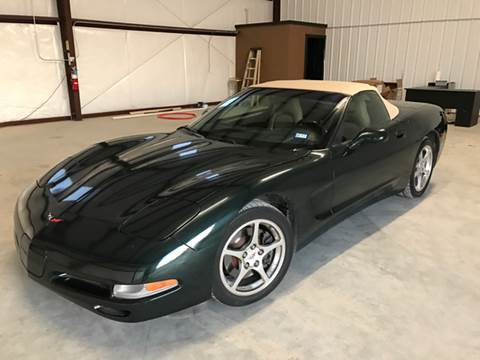 2001 Chevrolet Corvette for sale in Waxahachie, TX
