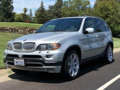 2005 BMW X5 for sale at SHOMAN MOTORS in Davis CA