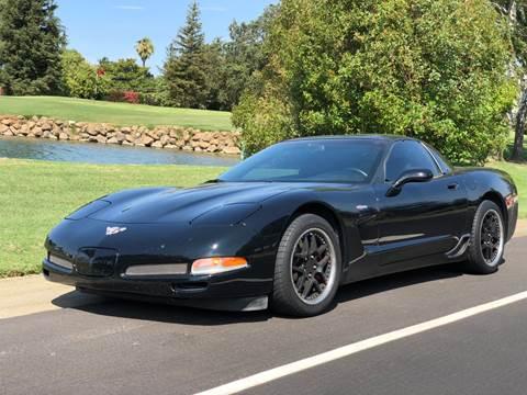 2003 Chevrolet Corvette for sale at SHOMAN MOTORS in Davis CA