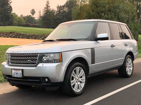 2010 Land Rover Range Rover for sale at SHOMAN AUTO GROUP in Davis CA