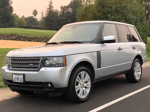 2010 Land Rover Range Rover for sale at SHOMAN MOTORS in Davis CA