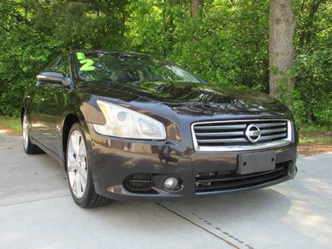 2012 Nissan Maxima for sale at TAYLOR'S AUTO SALES in Greensboro NC