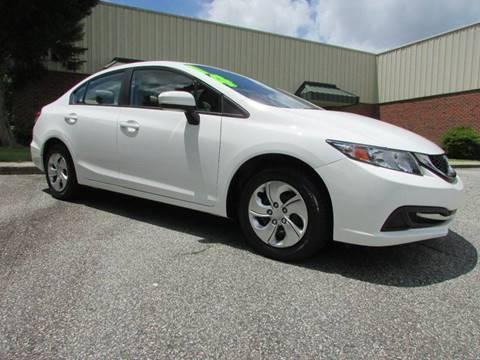 2014 Honda Civic for sale at TAYLOR'S AUTO SALES in Greensboro NC