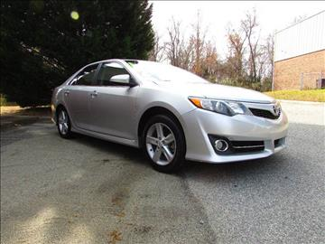 2012 Toyota Camry for sale at TAYLOR'S AUTO SALES in Greensboro NC