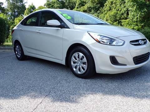 2015 Hyundai Accent for sale at TAYLOR'S AUTO SALES in Greensboro NC
