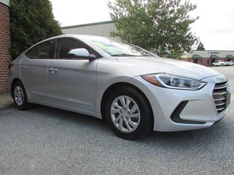2017 Hyundai Elantra for sale at TAYLOR'S AUTO SALES in Greensboro NC