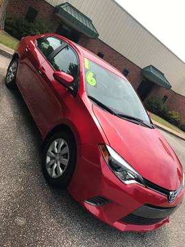 2016 Toyota Corolla for sale at TAYLOR'S AUTO SALES in Greensboro NC