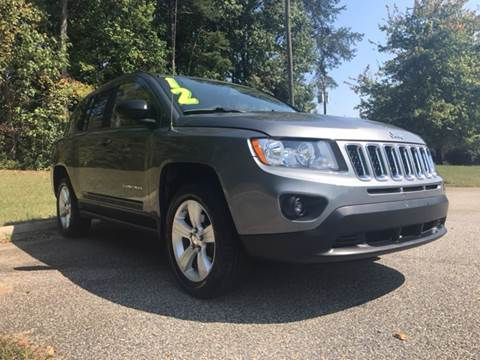2012 Jeep Compass for sale at TAYLOR'S AUTO SALES in Greensboro NC