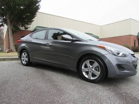 2013 Hyundai Elantra for sale at TAYLOR'S AUTO SALES in Greensboro NC