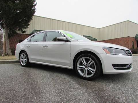 2014 Volkswagen Passat for sale at TAYLOR'S AUTO SALES in Greensboro NC