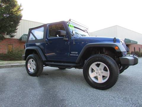 2010 Jeep Wrangler for sale at TAYLOR'S AUTO SALES in Greensboro NC