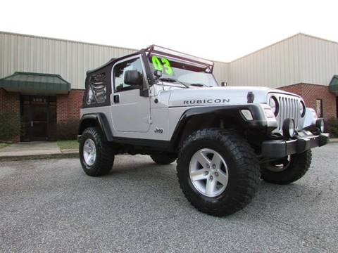 2003 Jeep Wrangler for sale at TAYLOR'S AUTO SALES in Greensboro NC