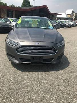 2014 Ford Fusion for sale at TAYLOR'S AUTO SALES in Greensboro NC