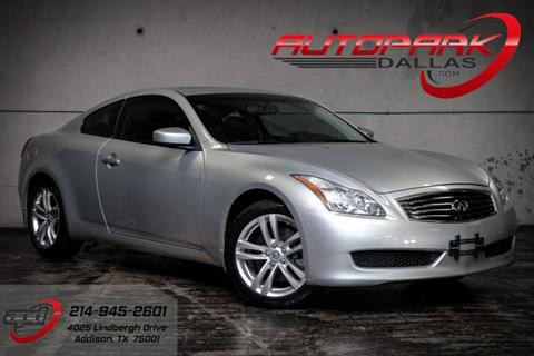 2010 Infiniti G37 Coupe for sale in Addison, TX