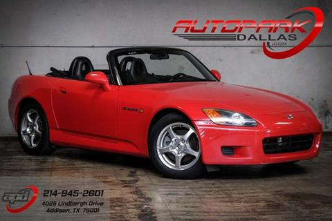 2002 Honda S2000 for sale in Addison, TX