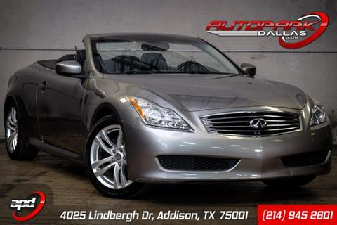 2009 Infiniti G37 Convertible for sale in Addison, TX
