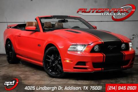 2013 Ford Mustang for sale at AUTOPARK DALLAS in Addison TX