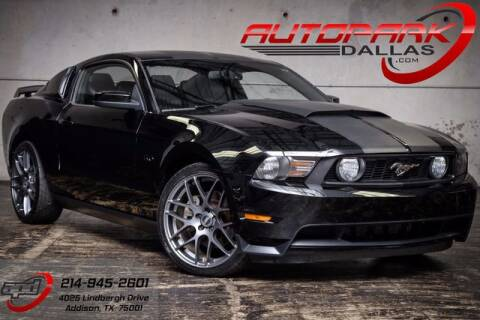 2011 Ford Mustang for sale at AUTOPARK DALLAS in Addison TX