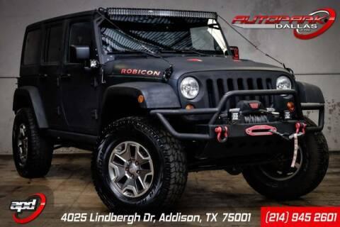 2013 Jeep Wrangler Unlimited for sale at AUTOPARK DALLAS in Addison TX